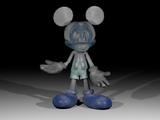 Abandoned Photo Negative Mickey