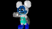 Adventure Photo-Negative Mickey