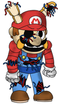 Withered Toy Mario
