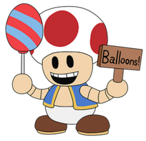 Balloon Toad