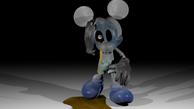 Shade Abandoned Photo Negative Mickey