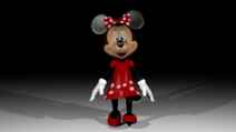 Minnie mouse by hold1231