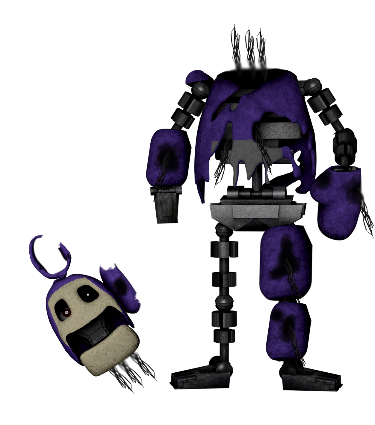Prototype Scarlette | Five Nights at Tubbyland: Danger Zone Wikia ...