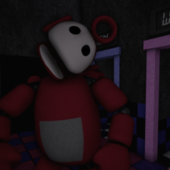 Po 2.0 in the Tubby Toilets with no eyes, from the Nightmare Night.