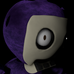 Tinky Winky's icon in the Custom Night menu prior to the revamp.