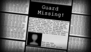 Missing newspaper