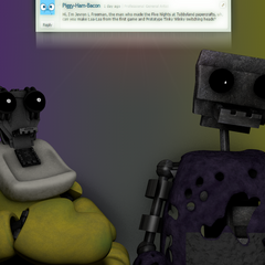 An image of Prototype Tinky Winky and Laa-Laa switching heads, from Critolious's DeviantArt.