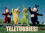 Teletubbies poster
