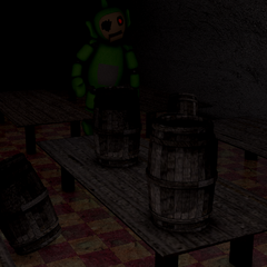 Dipsy in the first Dining Room.