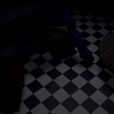 Beta Tinky Winky in the Kitchen.
