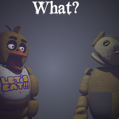 An image of Laa-Laa and Chica meeting, from Critolious's DeviantArt.