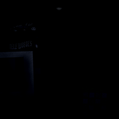 The office with the power cut out, from the Custom Night.