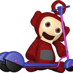 The full body Po plush with a scooter from Critolious's DeviantArt.