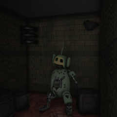 Prototype Dipsy in the Wreckage Closet.