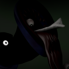 The secret screen of Noo-Noo pouring out the first game's Employee #3's corpse.