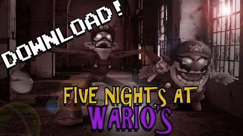 Five Nights at Wario's TRAILER (+DOWNLOAD)
