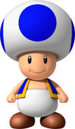 Blue Original Toad