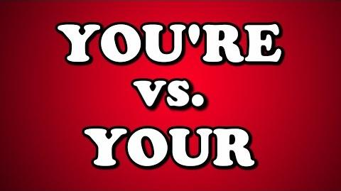 YOU'RE vs. YOUR-0
