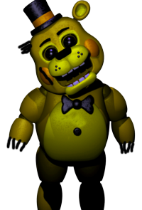 WitheredGoldenToyFreddy Withered Golden Toy Freddy