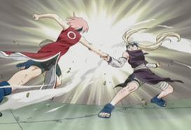 Sakura vs Ino 5
