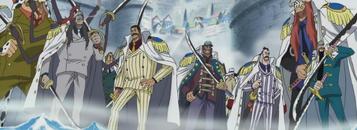 Vice Admirals