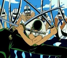 Zoro sword style