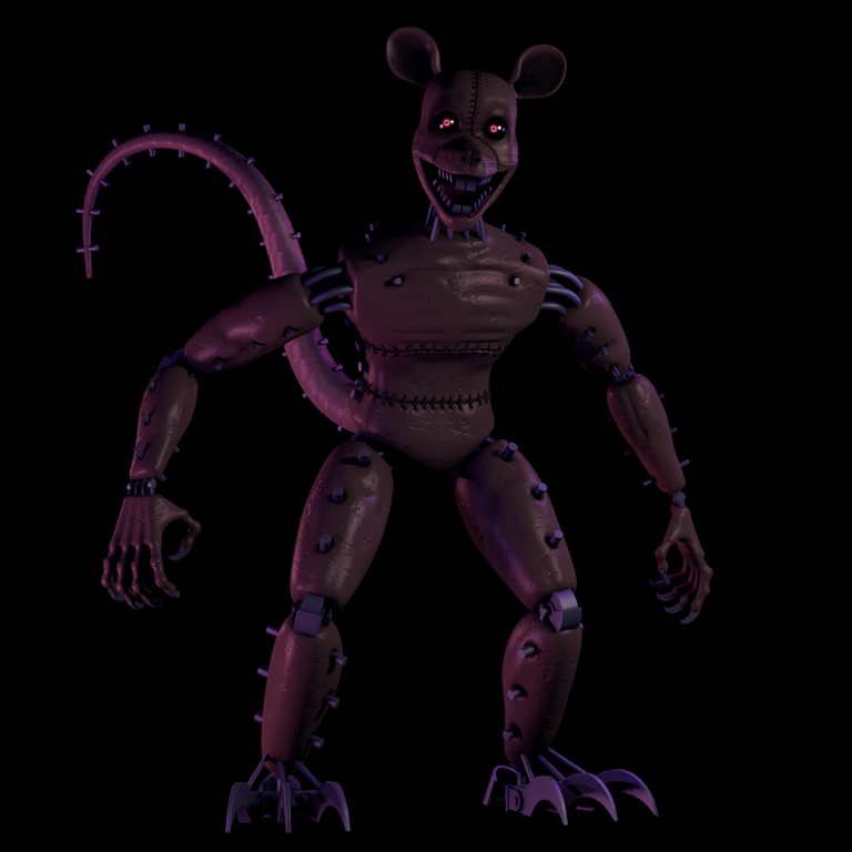 Monster RAT | Five Nights at Candy's Wikia | FANDOM ...