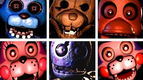 Five Nights at Candy's ALL JUMPSCARES