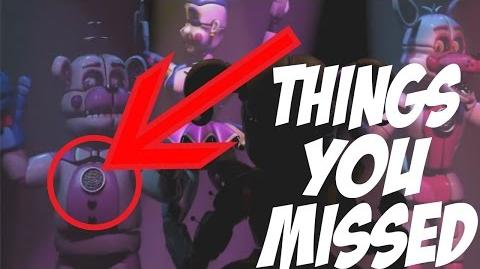 THINGS YOU MISSED! Five Nights at Freddy's Sister Location Trailer Analysis