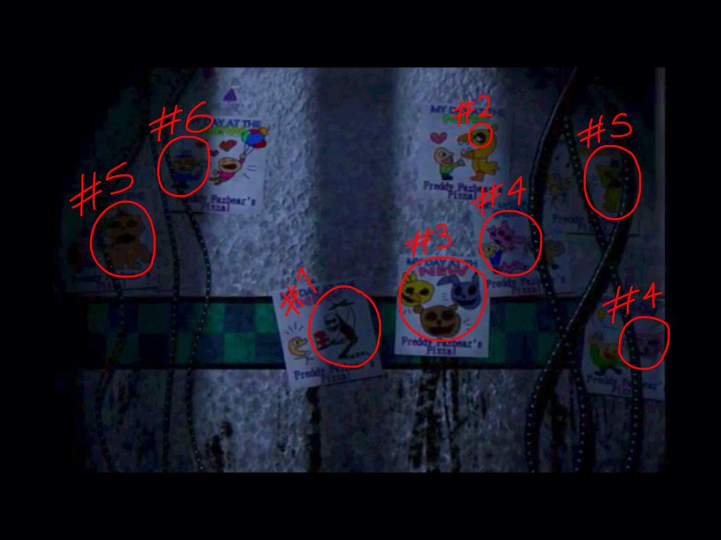 image fnaf 2 the pictures on the walls by pokemonmasta14 d83y8gm