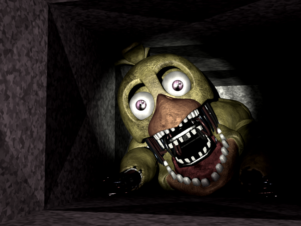 PHOTOSHOP: Accurate Adventure Withered Chica - Imgur