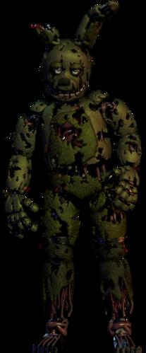 Springtrap | Five Nights At Freddy's Wiki | FANDOM powered by Wikia