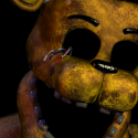 Withered Golden Freddy Head