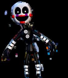 Adventure puppet by corruptedspringtrap-d9a0495