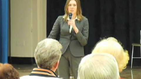 Natalia Rudiak Addresses Issues about District 4