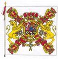 Bandera militar Spain 1700