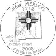 NewMexicoStateQuarterDesign