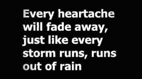 Gary Allan - Every Storm (Runs Out Of Rain) Lyrics