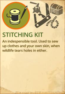 Stitching kit