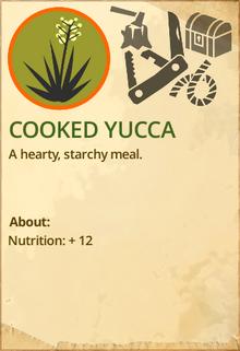 Cooked yukka