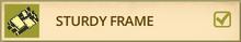 Raft sturdy frame