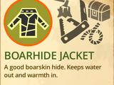 Boar Hide Jacket