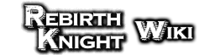 Rebirth Knight Wiki Wordmark