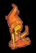 Adventure time flame princess by fire bucks-d5xwxh0