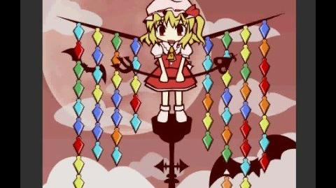 Fla-Fla Flan (Flandre Flash game)