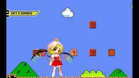 Flandre Scarlet in Super Mario Bros. 1-1