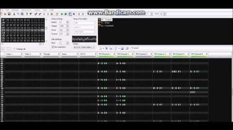 U.N. Owen Was Her? - Touhou Series - VRC7 Remix - FamiTracker