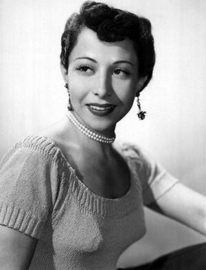 June Foray 1952