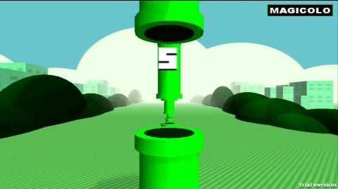 Floculus Bird - Flappy Bird 3D oculus rift gameplay 2014
