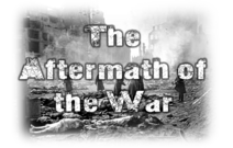 The Aftermath of the war